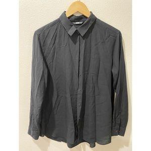 UNIQLO long sleeve black shirt L